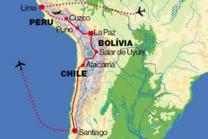 Chile, Peru, Bolívie - Peru
