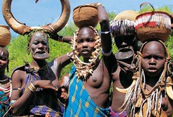 Etiopie - od Amharů po Hamary