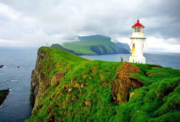 Faerské ostrovy a Island
