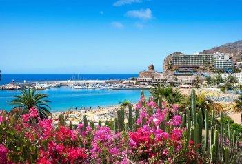 Gran Canaria - malý kontinent - koupání na Playa del Inglés