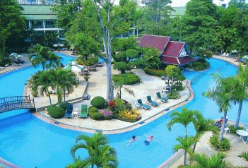 Green Park Resort - Thajsko - Pattaya - Wong Amat Beach