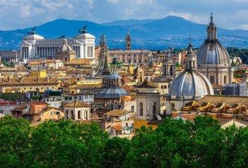 Itálie - Řím, věčné město a návštěva Tivoli