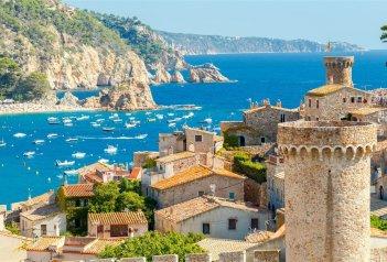 Katalánsko a Barcelona - středověká městečka a Montserrat
