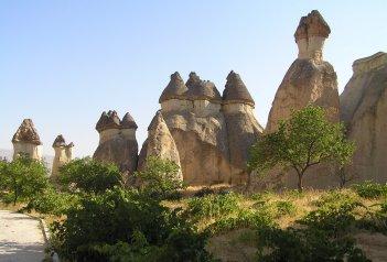Krásy turecké Kappadokie s pěší turistikou