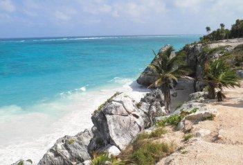 Mayské děditství s prodloužením o relax na bílých plážích