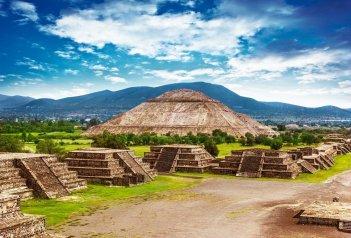 Skvosty mayského dědictví a pobyt na prosluněných plážích Mexika