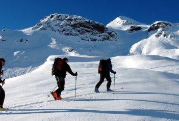 Slovinsko, skialpinismus, snowboarding ve volném terénu