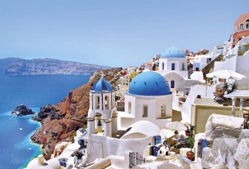 To nejlepší ze Santorini s pobytem u moře