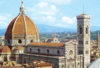 Toskánsko letecky i vlakem Florencie, Siena a Lucca