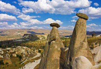 Turecko, oblast Kappadokie - zájezd s pěší turistikou